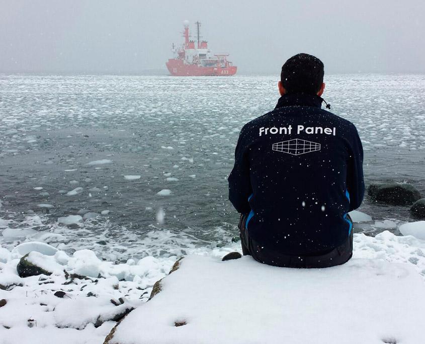 Panelados de la Base Juan Carlos I en la isla de Livingston , La Antártida 2