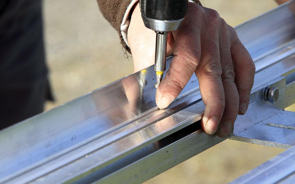 Aluminio - Frontpanel