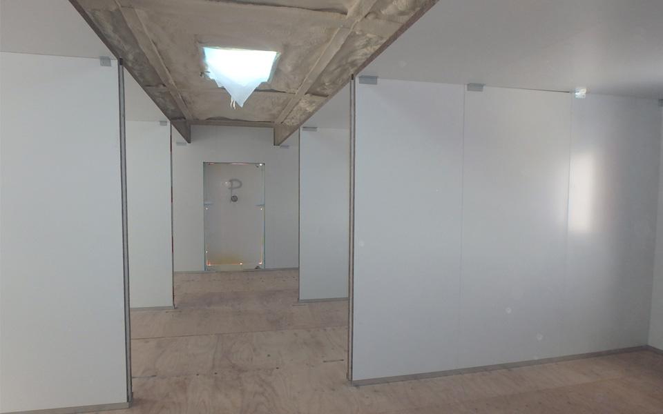 Panelado interior - Frontpanel