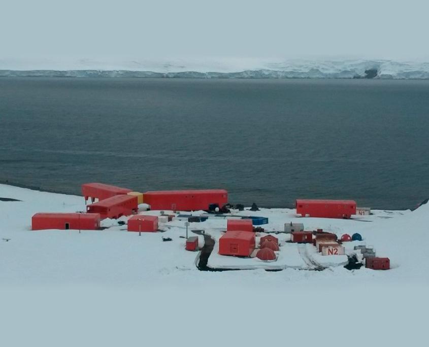 Antartida - Front panel