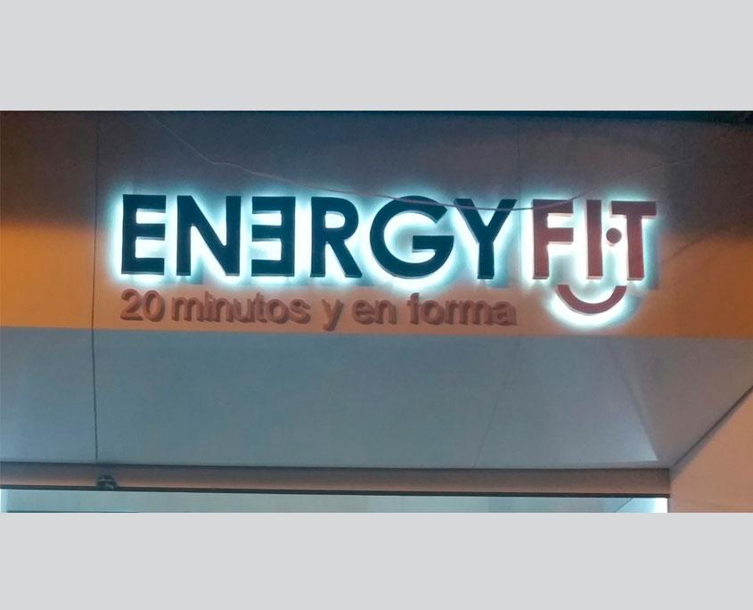 Energyfit - Frontpanel