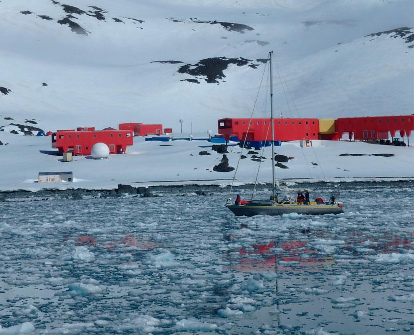 Antartida - Frontpanel