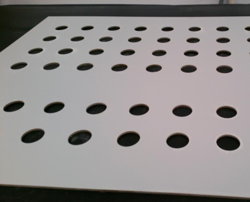 Mecanizado - Front panel