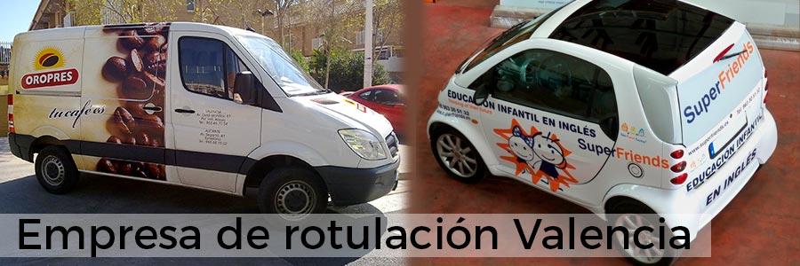 Empresa de rotulacion Valencia