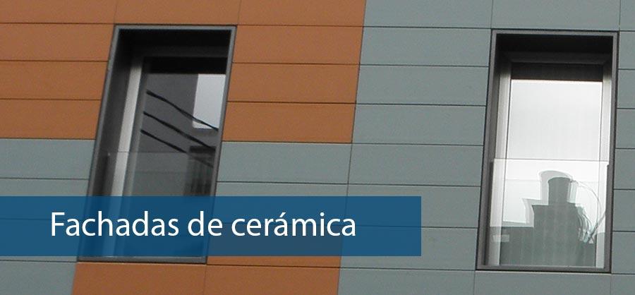 Fachadas de ceramica Valencia de calidad