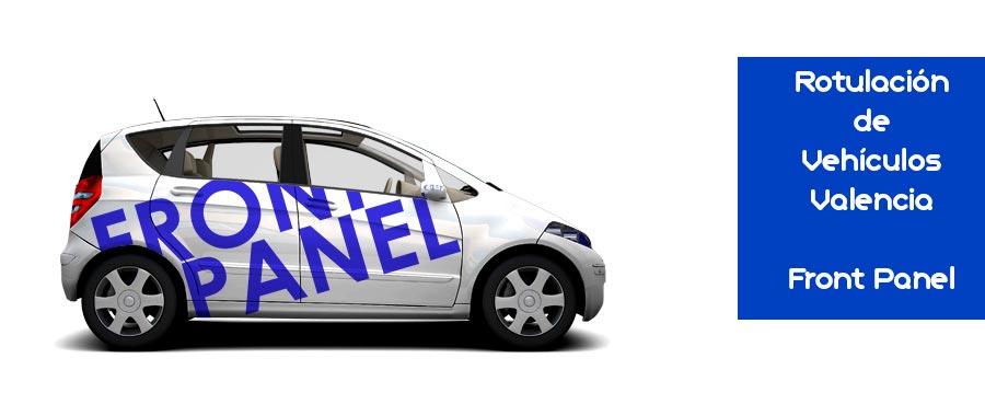 Rotulacion de vehiculos Valencia con FrontPanel