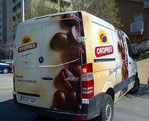 Rotulacion de vehiculos Valencia OroPress