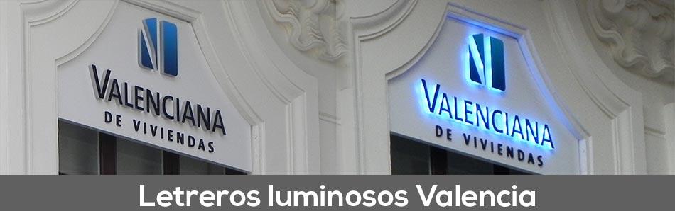 Letreros luminosos Valencia - Valenciana de Viviendas