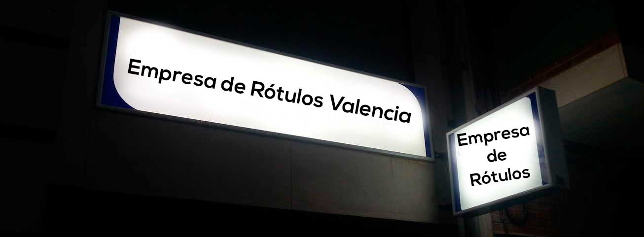 Empresa de rótulos Valencia