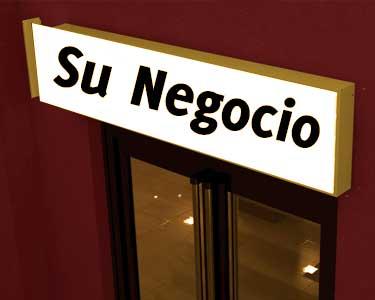 Rotulos para locales comerciales en Valencia a medida