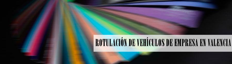 Servicio de rotulación de vehículos de empresa en Valencia