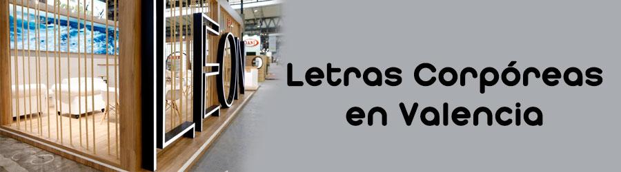 Instalación de letras corpóreas en Valencia y a nivel nacional