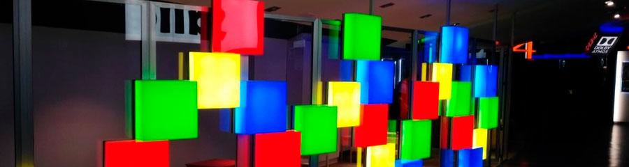 Trabajos de iluminación interior LED en Valencia