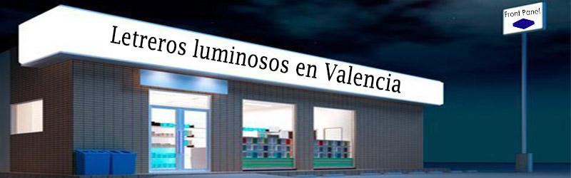 Letreros luminosos Valencia