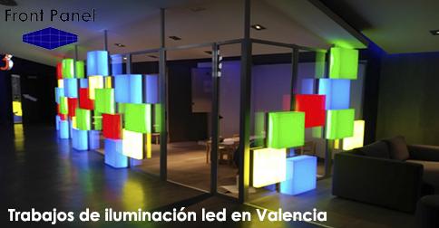Trabajos de iluminación led en Valencia